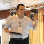 Mohammad conducting training